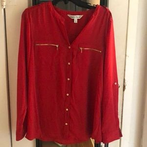Red business top
